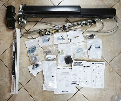 Von Duprin Exit Device 9927 New Open Box  Bronze Missing Parts See Photos