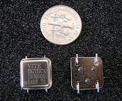 Vectron 5v Crystal Oscillator 20mhz Hgthca20m000 Smd Half Sizegull Wingqty.4