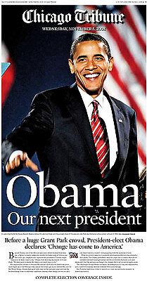 Chicago Tribune   11 5 08 Obama Our Next President