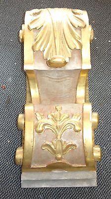 antike Wandkonsole Holz Konsole golden