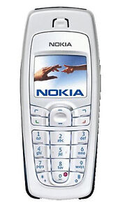 NEW NOKIA 6010 SILVER LOCKED T-MOBILE GSM CELLULAR PHONE SB