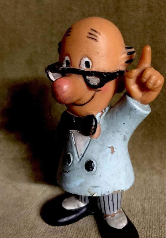 Vintage Advertising Figure Mascot Doll Vinyl Toy