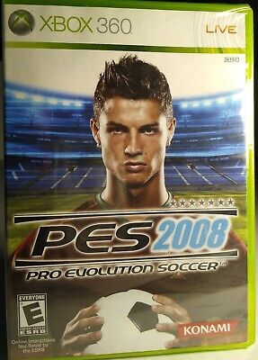 XBOX 360, PES 2008 (PRO EVOLUTION SOCCER) BRAND NEW, SEALED. for sale  Shipping to Nigeria