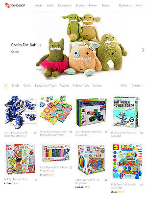 Amazon Affiliate Website - Baby Toys Store