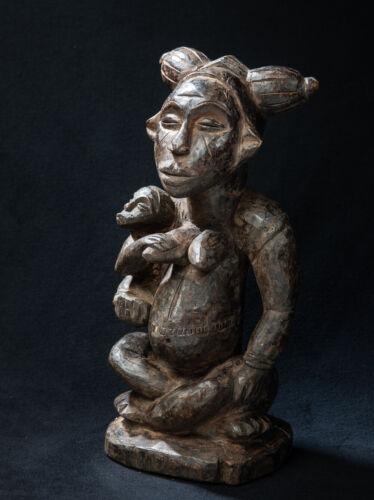 Lumbo Maternity Figure, Gabon, African Tribal Sculpture, African Art