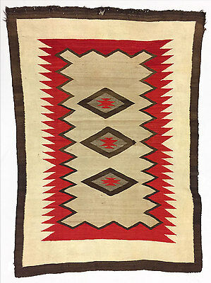 """Navajo Ganado Rug, c. 1890-1900, 70"""" x 51"""""""
