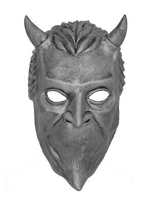 Ghost B.C Rock Roll Band Helmet Halloween Mask Nameless Ghoul Costume Props NEW](Halloween B Roll)