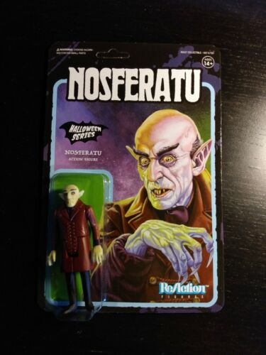 Nosferatu Super 7 ReAction 3.75 inch Action Figure Original Halloween series