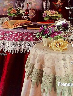 French Country Sage - French Country Rose with Macrame-60