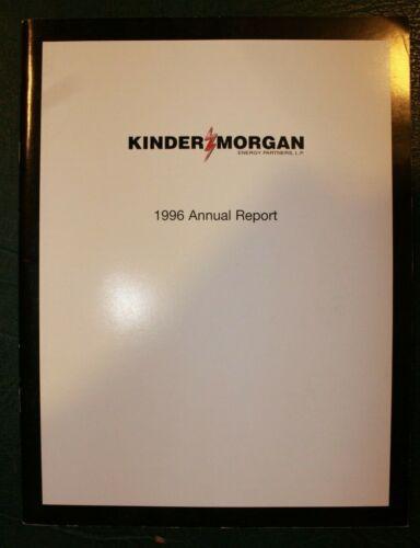 1996 Kinder Morgan Annual Report