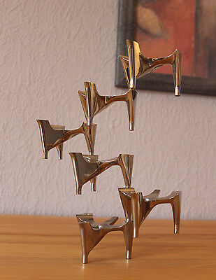 6 x Hammonia Motard Vogelflug Kerzenständer Panton Eames Space Age Atomium  Ära