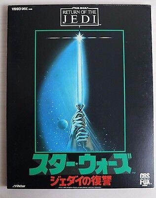 STAR WARS RETURN OF THE JEDI VHD VIDEO Japan Vintage Lucas Hamill Harrison Ford