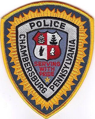 Chambersburg Police  Patch Pennsylvania PA NEW!!