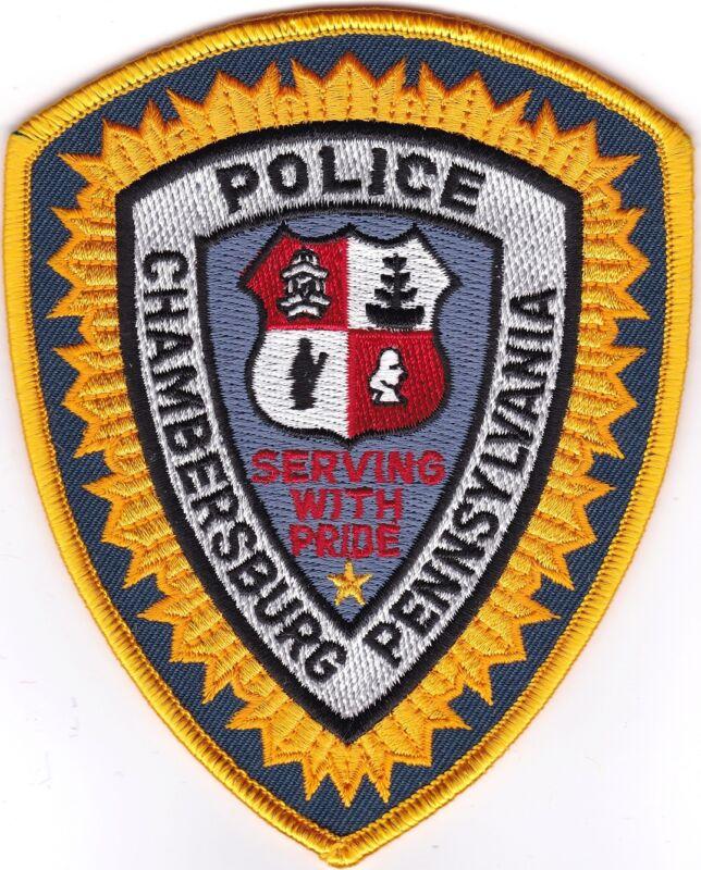 Chambersburg Police  Patch Pennsylvania PA