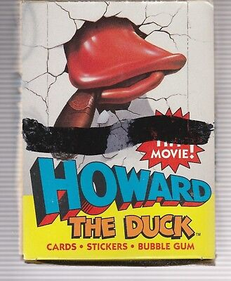1986 Topps Howard The Duck Full Box 36 Packs