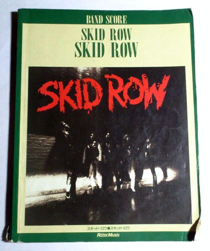 SKID ROW SKID ROW BAND SCORE JAPAN GUITAR TAB