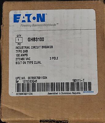 Eaton Cutler-hammer Ghb3100 New