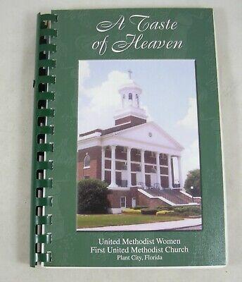 Plant City FL 1st United Methodist Women Church UMC Cookbook Spiral 2001 Florida