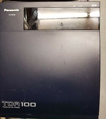 Panasonic Kx-tda100 Card Loaded With Cards