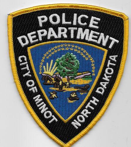Colorful Minot Police State North Dakota SD