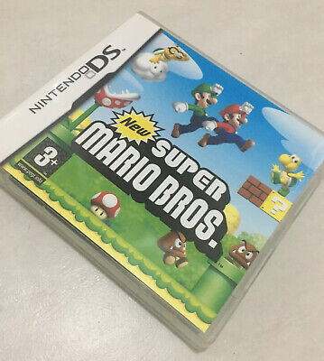 New Super Mario Bros - Nintendo DS Game - Complete UK PAL