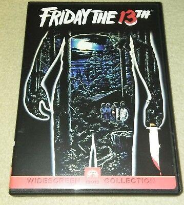 Friday the 13th (Widescreen DVD) RARE cover *HORROR *HALLOWEEN