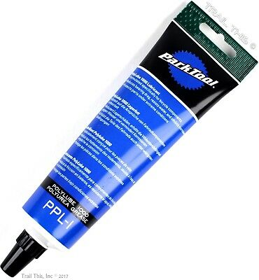 Park Tool PPL-1 Polylube 1000 Lubricant / Grease 4oz Tube for MTB/Road/BMX Bike