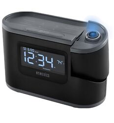 Homedics SoundSpa Recharged Alarm Clock & Sound Machine Black