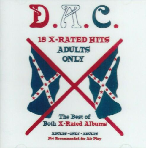 DAVID ALLAN COE 18 X - Rated Hits CD allen