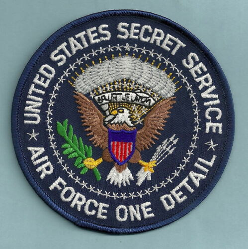 UNITED STATES SECRET SERVICE AIR FORCE ONE DETAIL SHOULDER PATCH