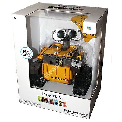 Disney New Pixar Collection U-Command Wall-E with Remote Control