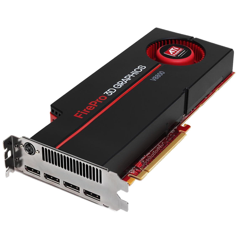 AMD ATI FirePro 3D Graphics V8800 Grafikkarte 2GB GDDR5 DisplayPort 100-505603