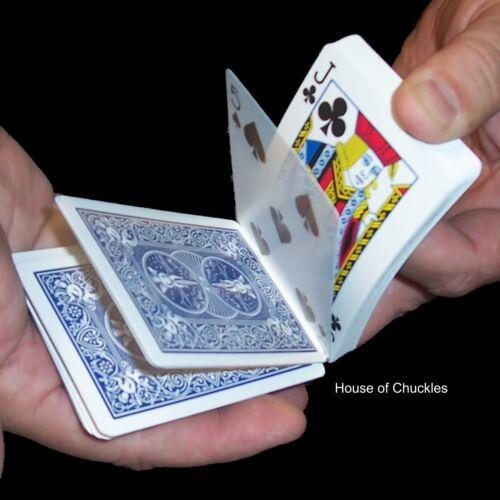 Svengali 3-Way Deck - Blue Bicycle Back - Magic Playing Card Trick