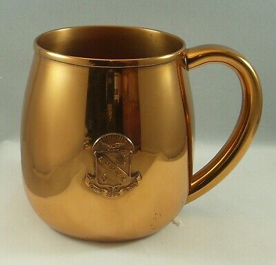 Vintage Kappa Sigma sorority copper crest mug/stein by L.G.Balfour Co.