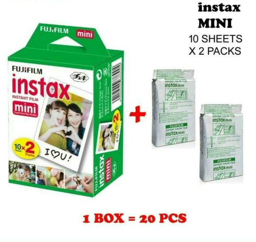 Fujifilm Instax Mini Instant Film Twin Pack (20 sheets)