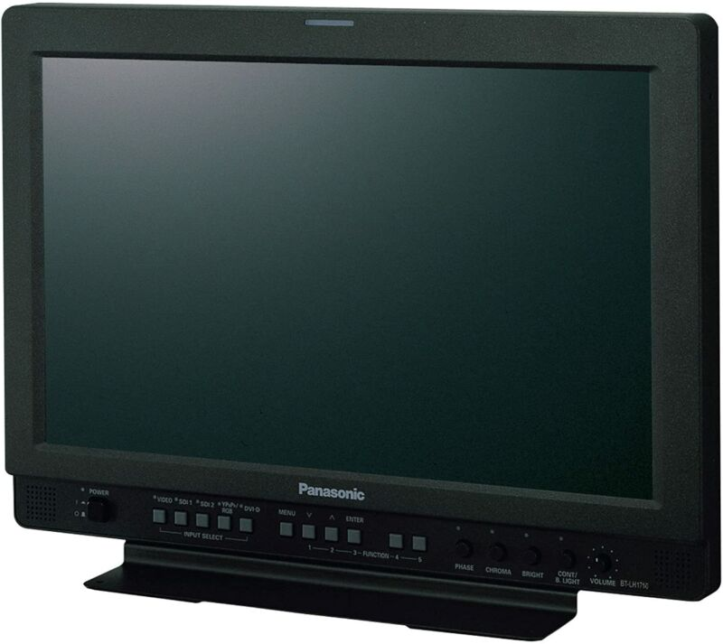 "Panasonic BT-LH1710P 17.1"" Widescreen Multi-Format Color Production Monitor"