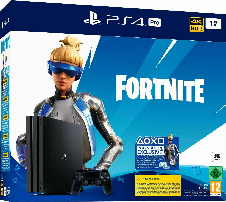 SONY PS4 PRO 1TB Fortnite Neo Versa Bundle CUH-7216B Neustes Version *NEU&OVP*✅