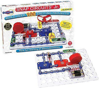 Elenco Electronic Snap Circuits, Jr. Kit, New, Free Shipping