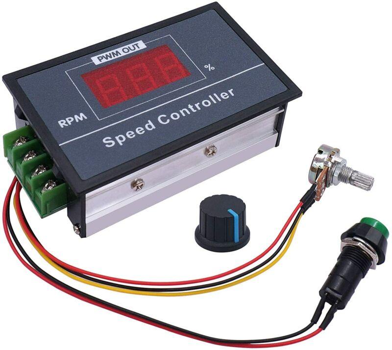 PWM DC Motor Speed Controller with Digital Display 30A DC 6-60V 12V 24V 36V 48V