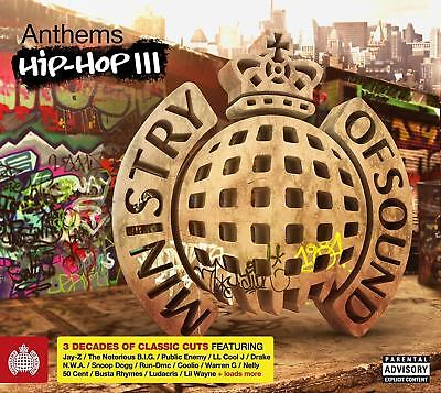 Ministry Anthems Hip Hop Iii 3   V A Inc Eric B Nwa Ice T Nas 3Cds  New Sealed