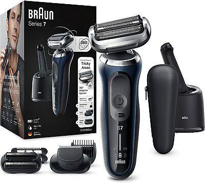 Braun Series 6 60-N7650cc Afeitadora Eléctrica Base de Carga Centro de Limpieza