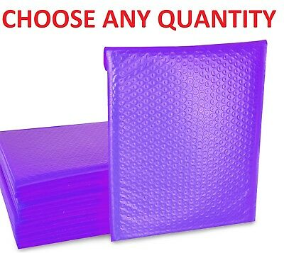 0 6x10 Purple Poly Bubble Mailers Shipping Mailing Padded Envelopes 6 X 9