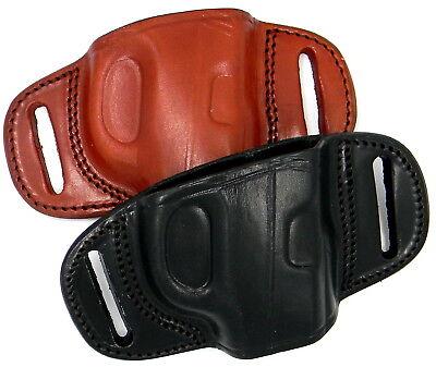Tagua Black Or Brown Leather Owb Quick Draw Belt Slide Holster Choose Gun Model