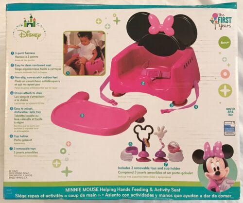 Disney Minnie Mouse Feeding & Activity Seat