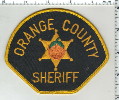 Orange County Sheriff (California) Shoulder Patch from 1982