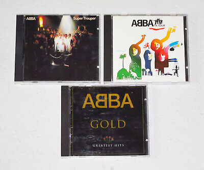 ABBA: The Album, Super Trouper, & ABBA Gold (Greatest Hits) -- Their Best Songs
