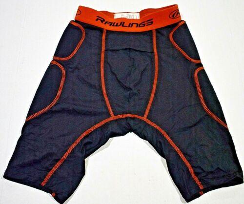 Rawlings Baseball Sliding Shorts, Black, Men