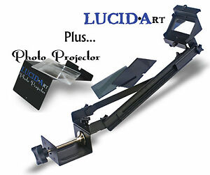 LUCID-Art-Camera-Lucida-w-Photo-Projector-drawing-painting-art-aid-artograph