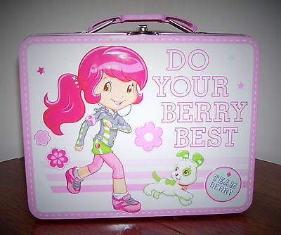 Strawberry Shortcake Metal Lunchbox Lunch box Do Your Berry Best Team Berry
