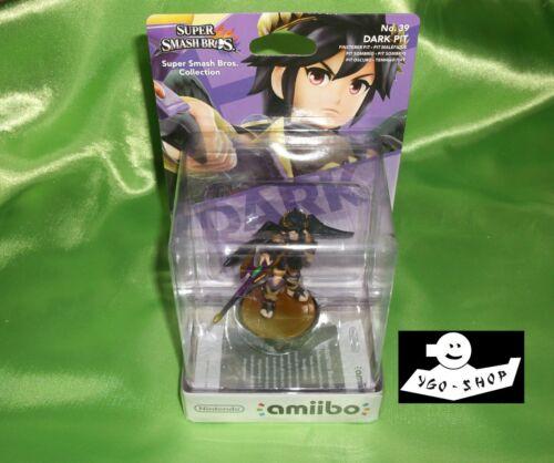 NINTENDO AMIIBO DARK FINSTERER PIT No. Nr. 39 Super Smash Bros Malefique Sombrio